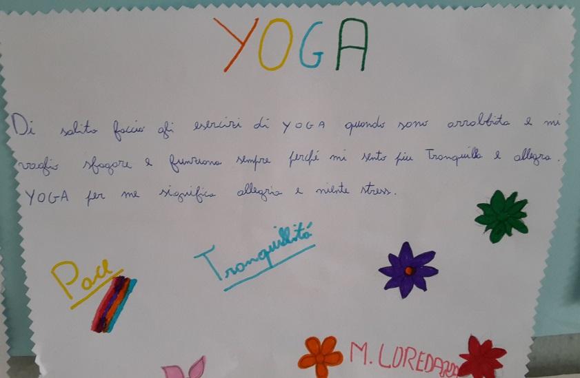 Yoga per bambini testimonianza