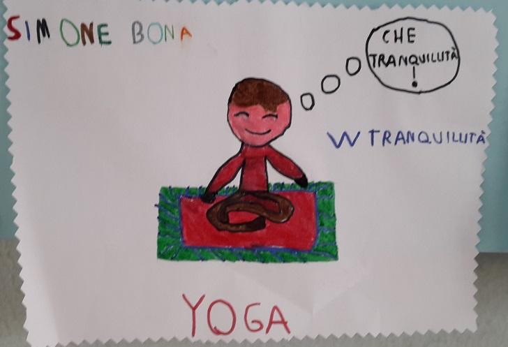 Yoga e bambini testimonianza