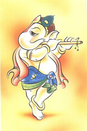 Shri Ganesha danza