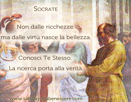 Scuola di Atene, Socrate